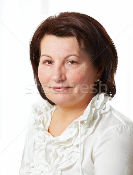 деловой женщины красивой портрет служба цвета Сток-фото © igabriela