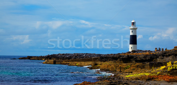 Phare île Irlande mer océan architecture Photo stock © igabriela