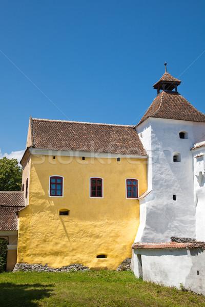 ストックフォト: 教会 · ヨーロッパ · 中世 · シーズン · ヨーロッパの · ランドマーク