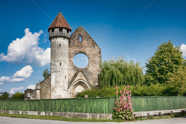 Carta Cistercian Church Stock photo © igabriela