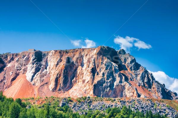 Stone quarry Stock photo © igabriela