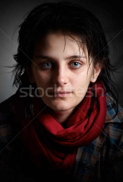Young artist fineart portrait Stock photo © igabriela