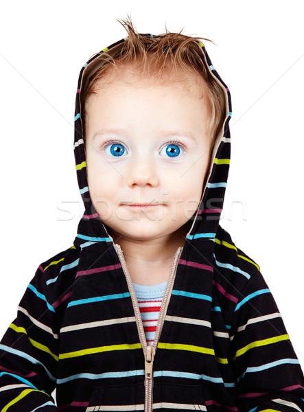 Happy baby boy Stock photo © igabriela