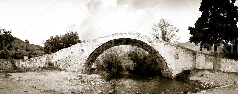 Venetian Bridge at Preveli Stock photo © igabriela