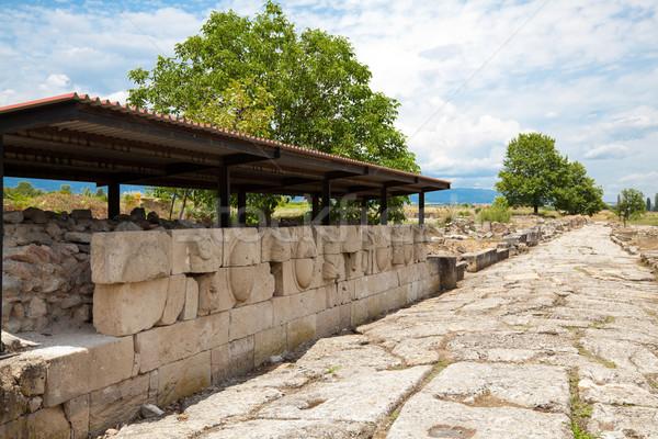 Dion Archeological Site Stock photo © igabriela
