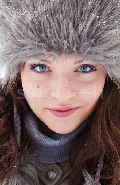портрет красивой Открытый 20 год Сток-фото © igabriela