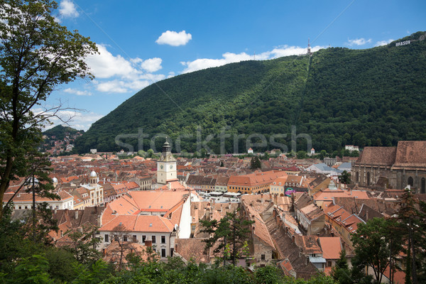 The Council Square in Brasov Stock photo © igabriela
