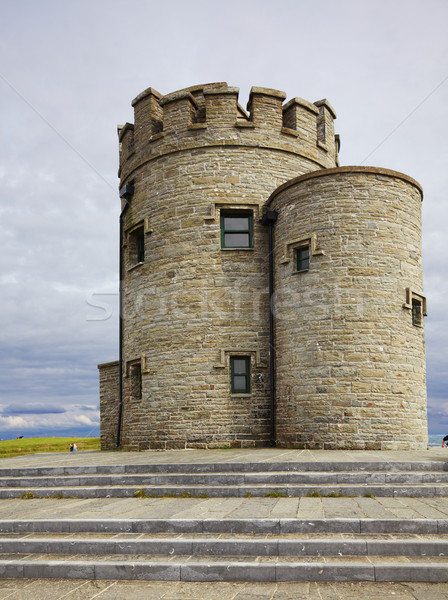 Castle at Cliffs of Moher Stock photo © igabriela
