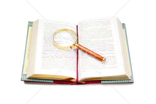 Stock photo: Open book
