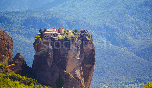 Monastery at Meteora Stock photo © igabriela