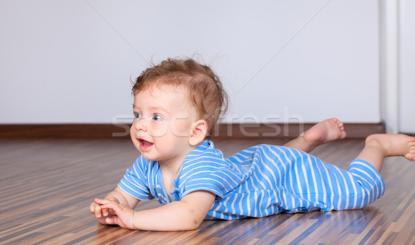 6 months old baby boy playing Stock photo © igabriela