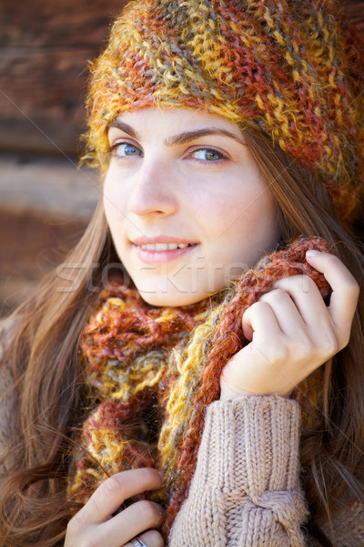 Young woman portrait outdoor Stock photo © igabriela