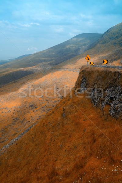 Apocalyptische landschap schiereiland Ierland Stockfoto © igabriela