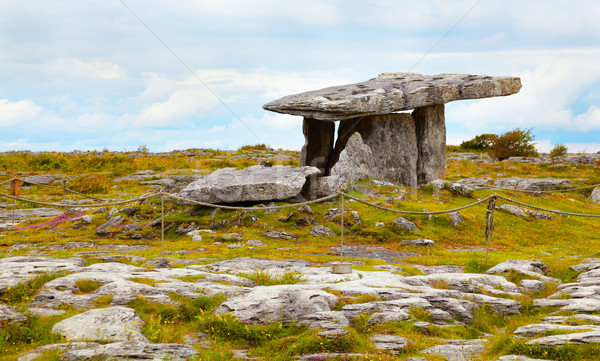 Poulnabrone dolmen Stock photo © igabriela