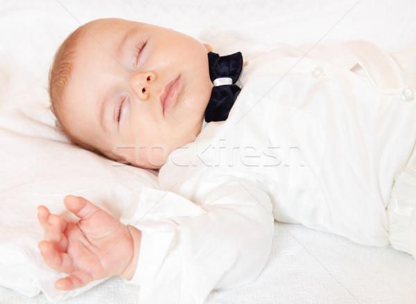 Baby boy sleeping Stock photo © igabriela