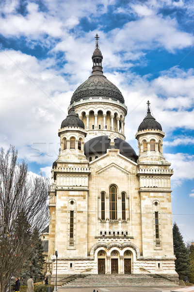 православный собора Церкви Blue Sky религии христианской Сток-фото © igabriela