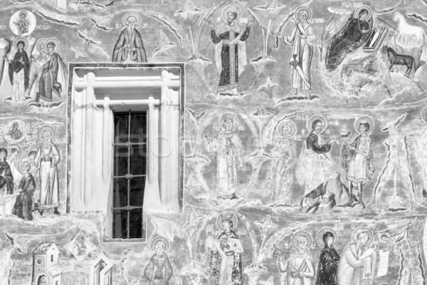 Voronet Monastery Stock photo © igabriela