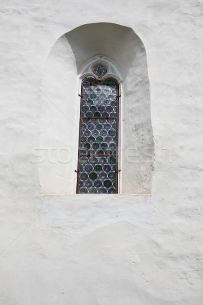 Ghelinta Fortified Church Stock photo © igabriela