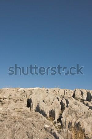 Rock field Stock photo © igabriela