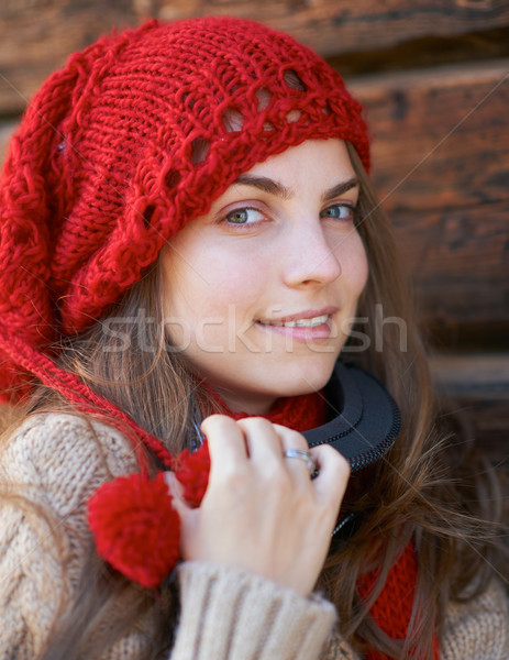 Portrait of a young girl Stock photo © igabriela