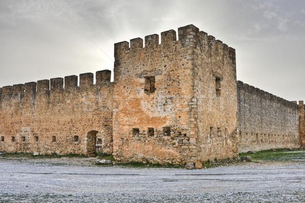 パノラマ 表示 春 建物 壁 ストックフォト © igabriela