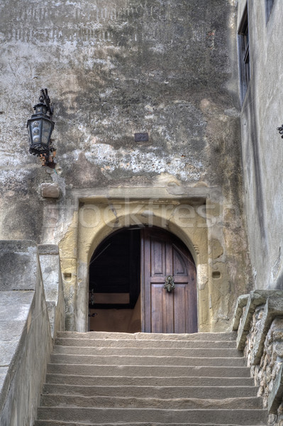 Dracula's Castle Entrance Stock photo © igabriela
