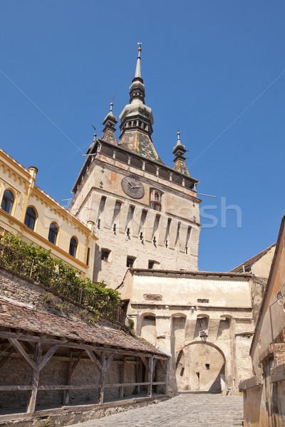Klok toren citadel stad Stockfoto © igabriela