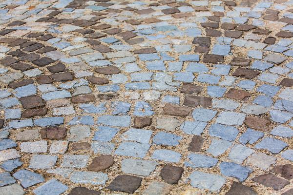 Piedra pavimento textura granito resumen edad Foto stock © igabriela
