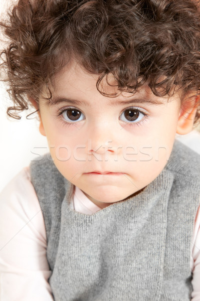 Baby girl portrait Stock photo © igabriela