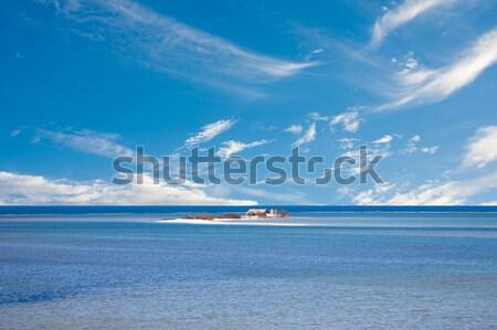 のどかな 風景 美しい 島 ギリシャ 空 ストックフォト © igabriela