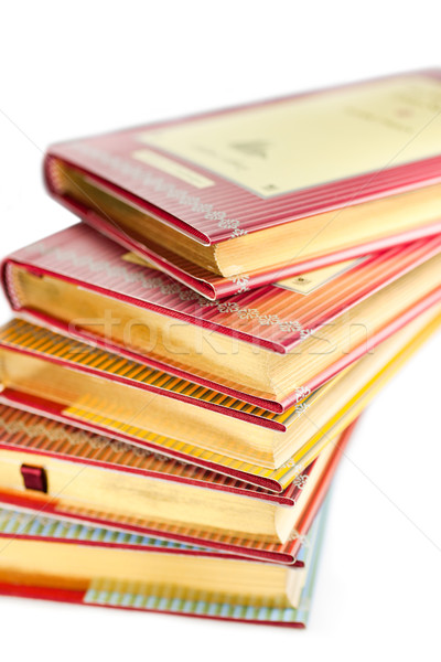Stack of collectible books Stock photo © igabriela