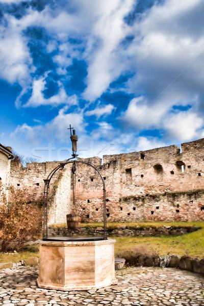Calnic Peasant Fortress Stock photo © igabriela