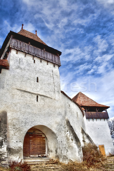 Viscri Fortified Church Stock photo © igabriela