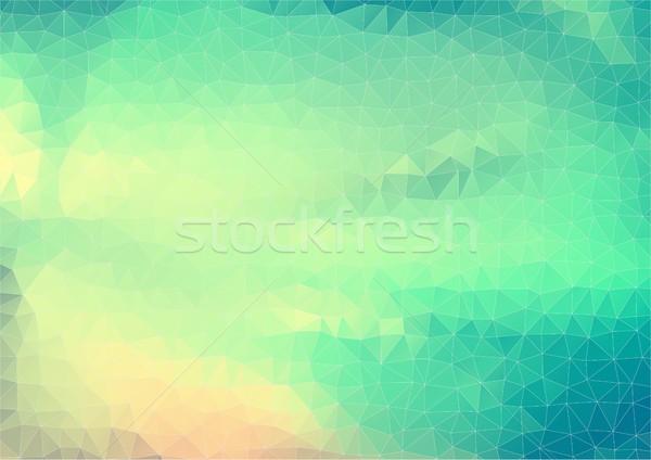Estilo retro vetor formas vintage abstrato cor Foto stock © igor_shmel