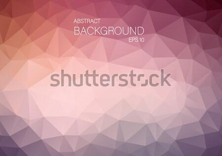 Eredeti klasszikus szín háromszög tapéta mértani Stock fotó © igor_shmel