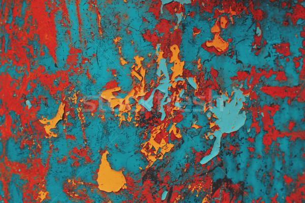 Vintage color grange texture background. Stock photo © igor_shmel