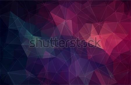 Soyut uzay web tasarım ışık dizayn arka plan Stok fotoğraf © igor_shmel