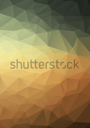 抽象的な カラフル Webデザイン 水 光 レトロな ストックフォト © igor_shmel