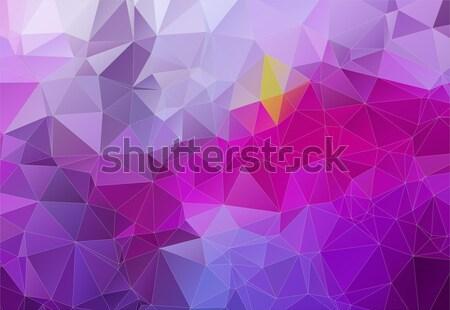 Violeta abstrato formas web design retro cor Foto stock © igor_shmel