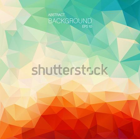 Soyut eğim üçgen web tasarım su Stok fotoğraf © igor_shmel