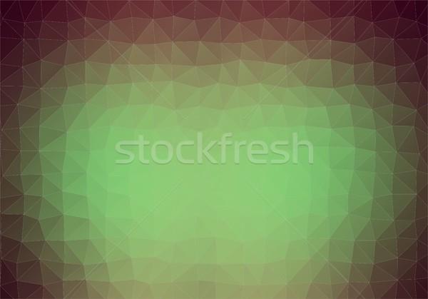 Retro renk stil vektör bağbozumu Stok fotoğraf © igor_shmel