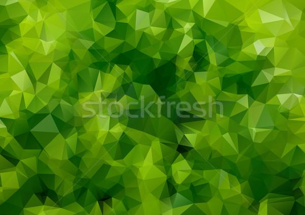 Yeşil soyut renkli web tasarım arka plan sanat Stok fotoğraf © igor_shmel