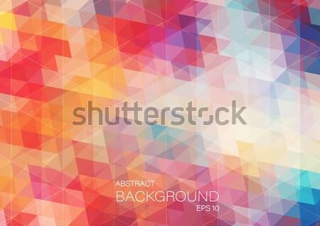 Abstrato geométrico colorido padrão moderno estilo Foto stock © igor_shmel