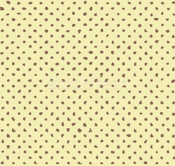 Sem costura feito à mão meio-tom vetor padrão textura Foto stock © igor_shmel