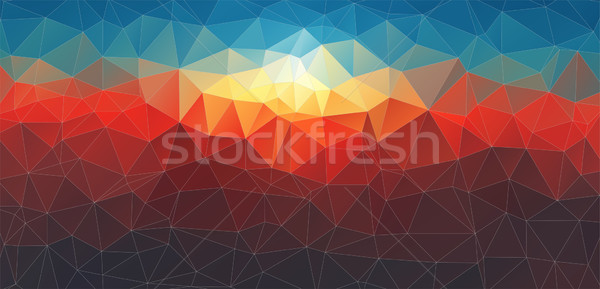 Soyut geometrik web tasarım doku duvar Stok fotoğraf © igor_shmel