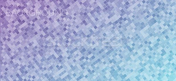 треугольник facebook охватывать геометрический текстуры дизайна Сток-фото © igor_shmel