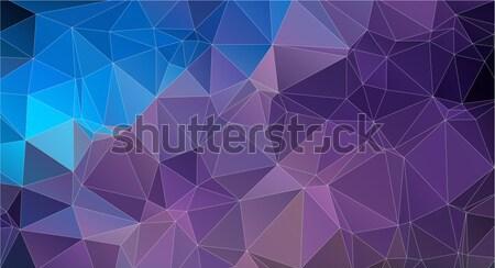 Cor geométrico triângulo padrão papel de parede água Foto stock © igor_shmel