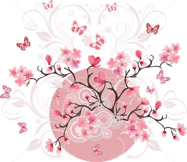 桜 芸術 デザイン 春 抽象的な 夏 ストックフォト © igor_shmel