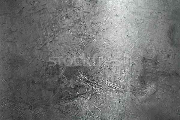 Primo piano danni superficie metallica lucido scratch abstract Foto d'archivio © igor_shmel