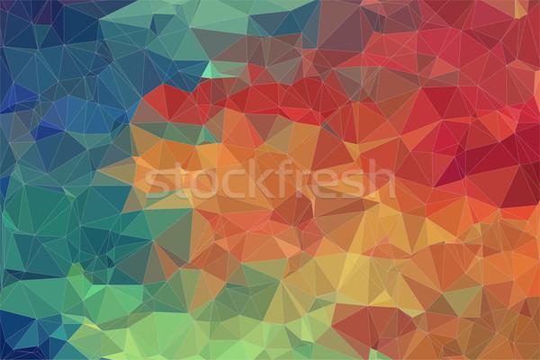 Renkli web tasarım moda soyut ışık arka plan Stok fotoğraf © igor_shmel